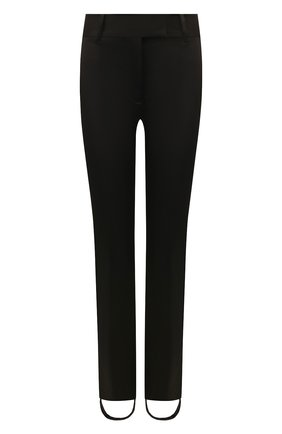 Женские хлопковые брюки со штрипками TOM FORD черного цвета, арт. PAW302-FAX615 | Фото 1