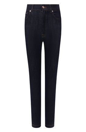 Женские джинсы DOLCE & GABBANA синего цвета, арт. FTB0QD/G899V | Фото 1