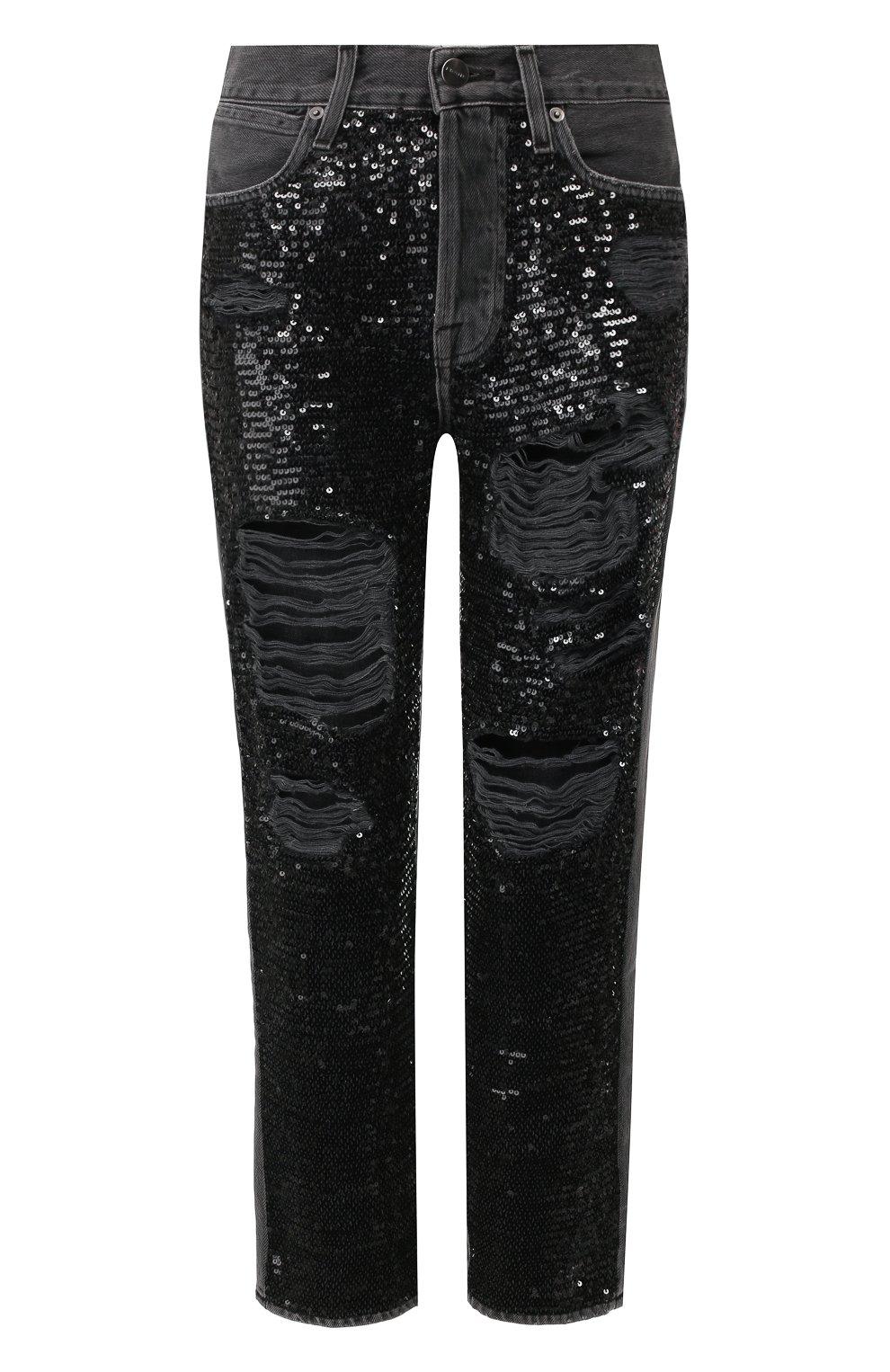 Женские джинсы FRAME DENIM серого цвета, арт. SQJN252 | Фото 1