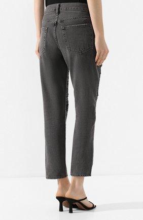 Женские джинсы FRAME DENIM серого цвета, арт. SQJN252 | Фото 4
