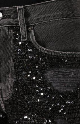 Женские джинсы FRAME DENIM серого цвета, арт. SQJN252 | Фото 5