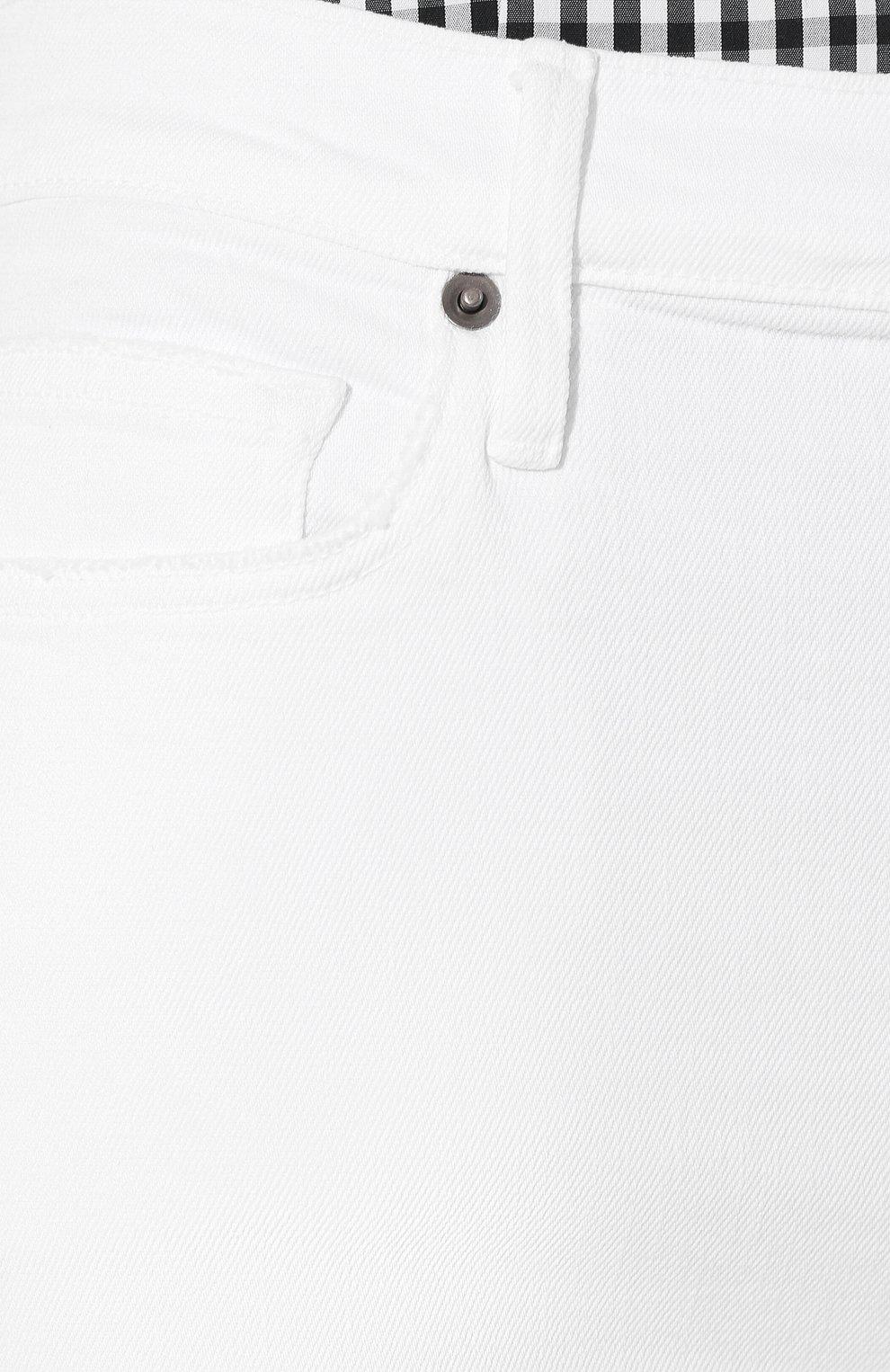 Женские джинсы FRAME DENIM белого цвета, арт. LBU711 | Фото 5