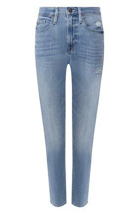 Женские джинсы FRAME DENIM голубого цвета, арт. LBU0467/B | Фото 1
