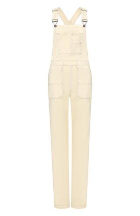 Женский джинсовый комбинезон FRAME DENIM белого цвета, арт. CCJMP781 | Фото 1
