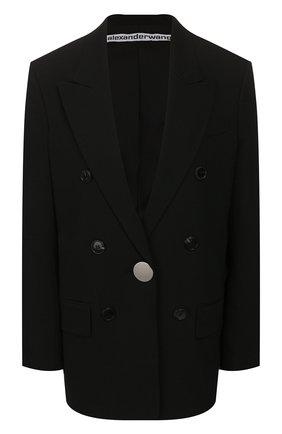 Женский жакет ALEXANDER WANG черного цвета, арт. 1WC1202157 | Фото 1