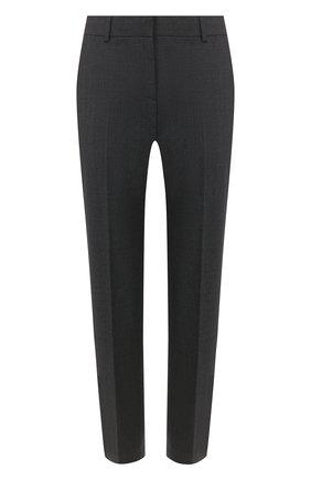 Женские шерстяные брюки THEORY темно-серого цвета, арт. H0101234 | Фото 1