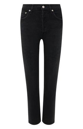 Женские джинсы AGOLDE черного цвета, арт. A056B-1084 | Фото 1