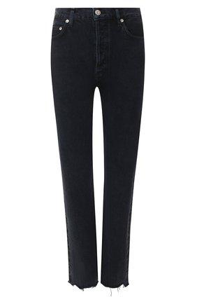 Женские джинсы AGOLDE темно-синего цвета, арт. A105G-813   Фото 1