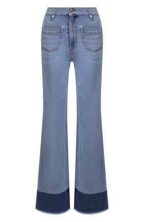 Женские джинсы REDVALENTINO голубого цвета, арт. TR0DD02A/53V | Фото 1