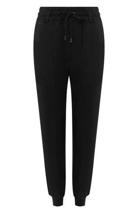 Женские шелковые джоггеры TOM FORD черного цвета, арт. PAJ047-FAX468 | Фото 1