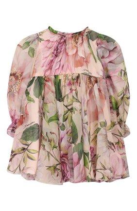 Женский комплект из платья и шорт DOLCE & GABBANA светло-розового цвета, арт. L22DE9/IS1AF | Фото 2