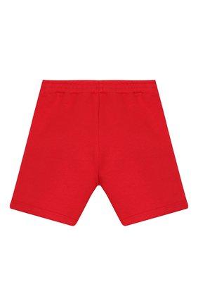 Детские хлопковые шорты GUCCI красного цвета, арт. 600053/XJB4G | Фото 2
