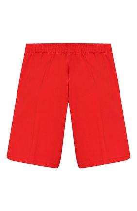 Детские хлопковые шорты GUCCI красного цвета, арт. 600271/XWAIW | Фото 2