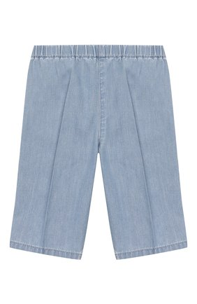 Детские джинсовые шорты GUCCI голубого цвета, арт. 603715/XDA11 | Фото 1