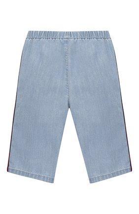 Детские джинсовые шорты GUCCI голубого цвета, арт. 603715/XDA11 | Фото 2