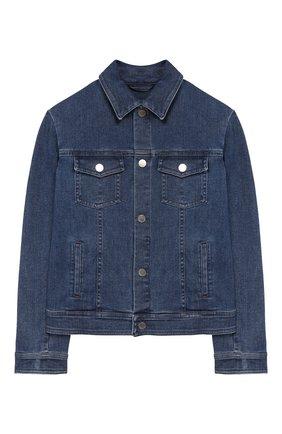 Детская джинсовая куртка LORO PIANA голубого цвета, арт. FAI9360 | Фото 1