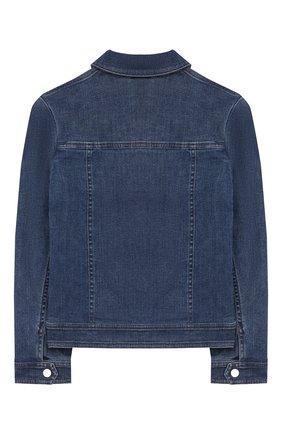 Детская джинсовая куртка LORO PIANA голубого цвета, арт. FAI9360 | Фото 2