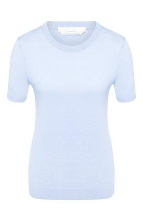 Женская шерстяной топ BOSS голубого цвета, арт. 50402269 | Фото 1
