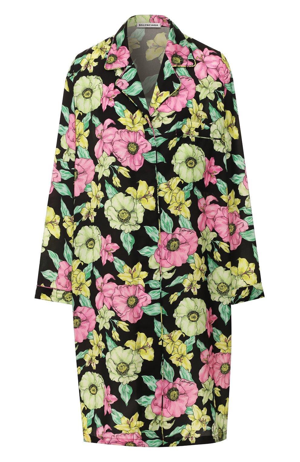 Женское платье BALENCIAGA зеленого цвета, арт. 602451/TGLN6   Фото 1