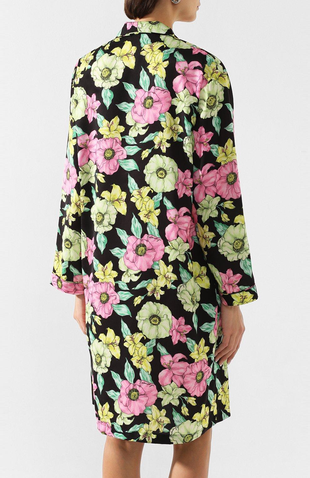 Женское платье BALENCIAGA зеленого цвета, арт. 602451/TGLN6   Фото 4