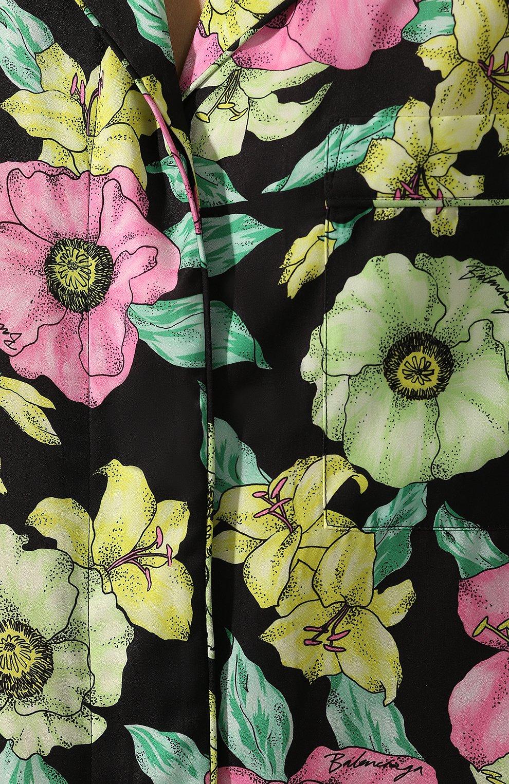 Женское платье BALENCIAGA зеленого цвета, арт. 602451/TGLN6   Фото 5