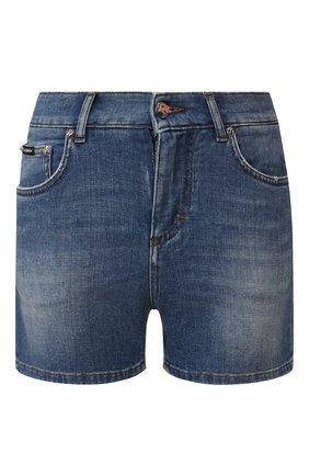 Женские джинсовые шорты DOLCE & GABBANA светло-голубого цвета, арт. FTBQ9D/G8990 | Фото 1