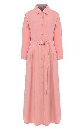 Женское хлопковое платье MAX&MOI розового цвета, арт. E20RUSSIE | Фото 1