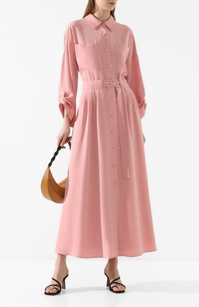 Женское хлопковое платье MAX&MOI розового цвета, арт. E20RUSSIE | Фото 2