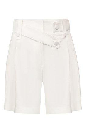 Женские шорты изо льна и вискозы MAX&MOI белого цвета, арт. E20SAIJ0 | Фото 1
