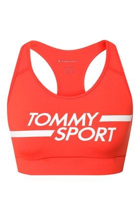 Женская топ TOMMY HILFIGER оранжевого цвета, арт. S10S100451 | Фото 1