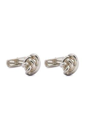 Мужские серебряные запонки BRIONI серебряного цвета, арт. 0N9200/04Z76 | Фото 1