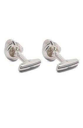 Мужские серебряные запонки BRIONI серебряного цвета, арт. 0N9200/04Z76 | Фото 2