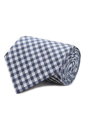 Мужской шелковый галстук TOM FORD синего цвета, арт. 7TF57/XT0   Фото 1