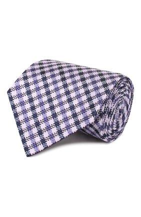Мужской шелковый галстук TOM FORD сиреневого цвета, арт. 7TF58/XT0 | Фото 1