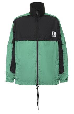 Мужская куртка OFF-WHITE зеленого цвета, арт. 0MBD017S20A230204400 | Фото 1