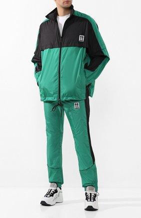 Мужская куртка OFF-WHITE зеленого цвета, арт. 0MBD017S20A230204400 | Фото 2