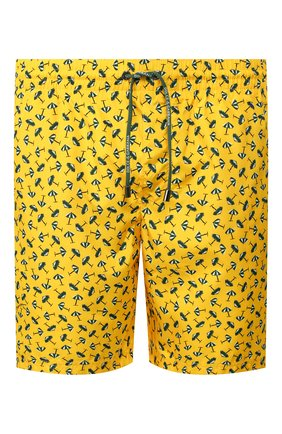 Детского плавки-шорты DOLCE & GABBANA желтого цвета, арт. M4A13T/HSM2B   Фото 1