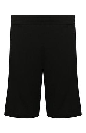 Мужские шерстяные шорты Z ZEGNA черного цвета, арт. VU405/ZZTP15 | Фото 1