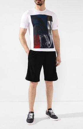Мужские шерстяные шорты Z ZEGNA черного цвета, арт. VU405/ZZTP15 | Фото 2