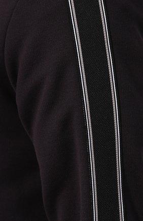 Мужской хлопковая толстовка ZEGNA COUTURE черного цвета, арт. CUCJ02/7UJ28   Фото 5 (Рукава: Длинные; Мужское Кросс-КТ: Толстовка-одежда; Длина (для топов): Стандартные; Материал внешний: Хлопок; Стили: Спорт-шик)
