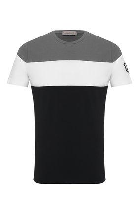 Мужская хлопковая футболка CORNELIANI разноцветного цвета, арт. 85G574-0125081/00 | Фото 1