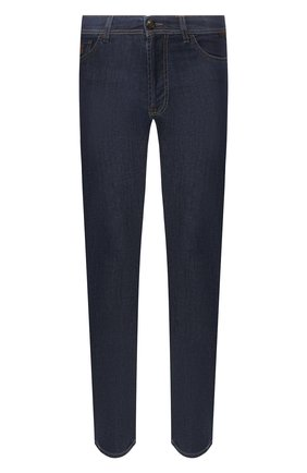Мужские джинсы CORNELIANI темно-синего цвета, арт. 854JK5-0120159/00 | Фото 1