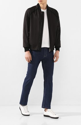 Мужские джинсы CORNELIANI темно-синего цвета, арт. 854JK5-0120159/00 | Фото 2