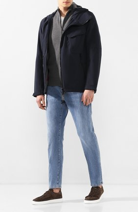Мужская куртка C.P. COMPANY темно-синего цвета, арт. 08CM0W042A-005659A | Фото 2