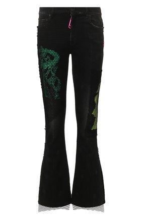 Мужские джинсы OFF-WHITE черного цвета, арт. 0MYA059R20G940128688 | Фото 1