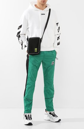 Мужская текстильная сумка OFF-WHITE черного цвета, арт. 0MVN004R20A370011000 | Фото 2