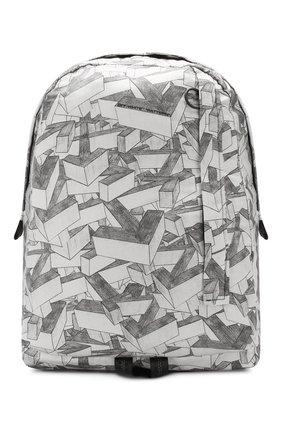 Мужской текстильный рюкзак OFF-WHITE черно-белого цвета, арт. 0MNB019R20E480339908 | Фото 1