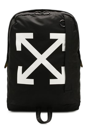 Мужской текстильный рюкзак OFF-WHITE черного цвета, арт. 0MNB019R20E480231001 | Фото 1