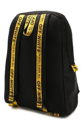 Мужской текстильный рюкзак OFF-WHITE черного цвета, арт. 0MNB019R20E480231001 | Фото 3