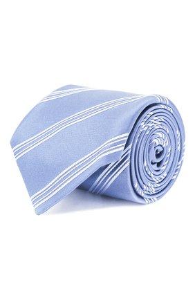 Мужской шелковый галстук ZILLI голубого цвета, арт. 50500/TIES | Фото 1
